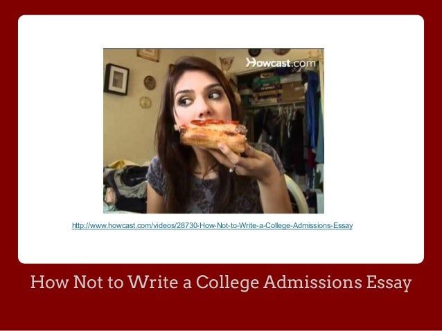 Part 1: The Common Application and the college essay question