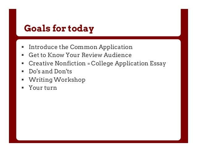 Nyu College Application Essay