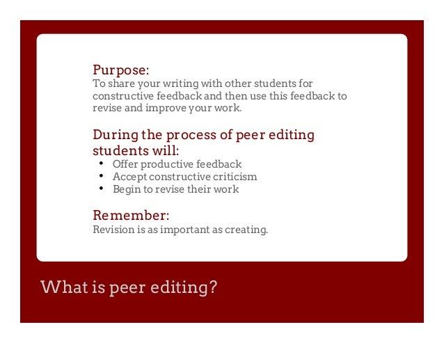 Essay Editing