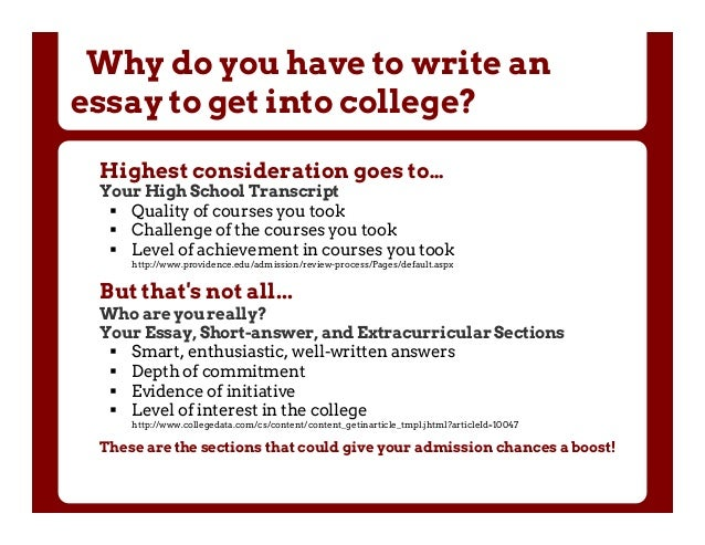 Questbridge essay for common app