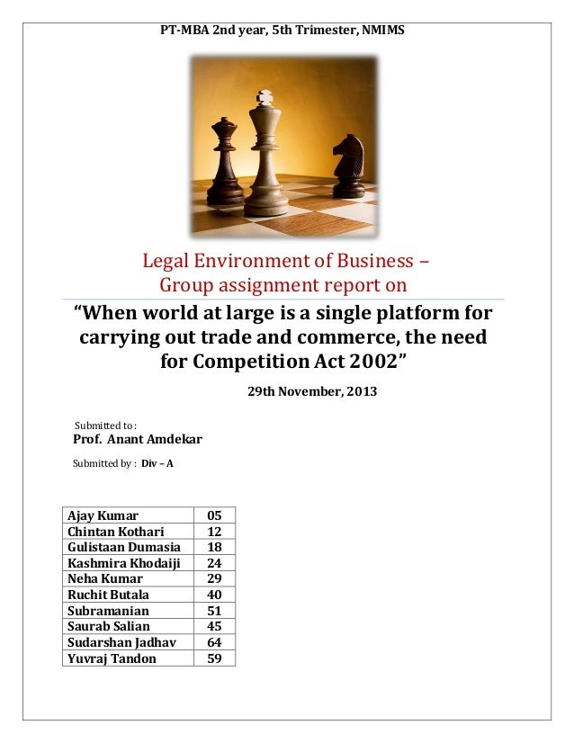 The Competition Act, India