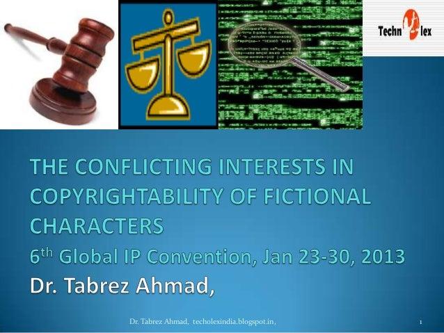 Dr. Tabrez Ahmad, techolexindia.blogspot.in,   1