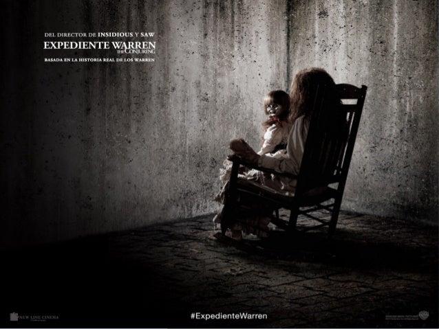 Warren file ● Terror film ● Director ● Characters ● Very scary