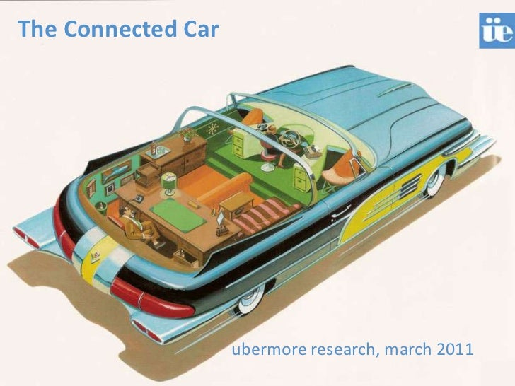 The Connected Car<br />research<br />ubermore research, march 2011<br />