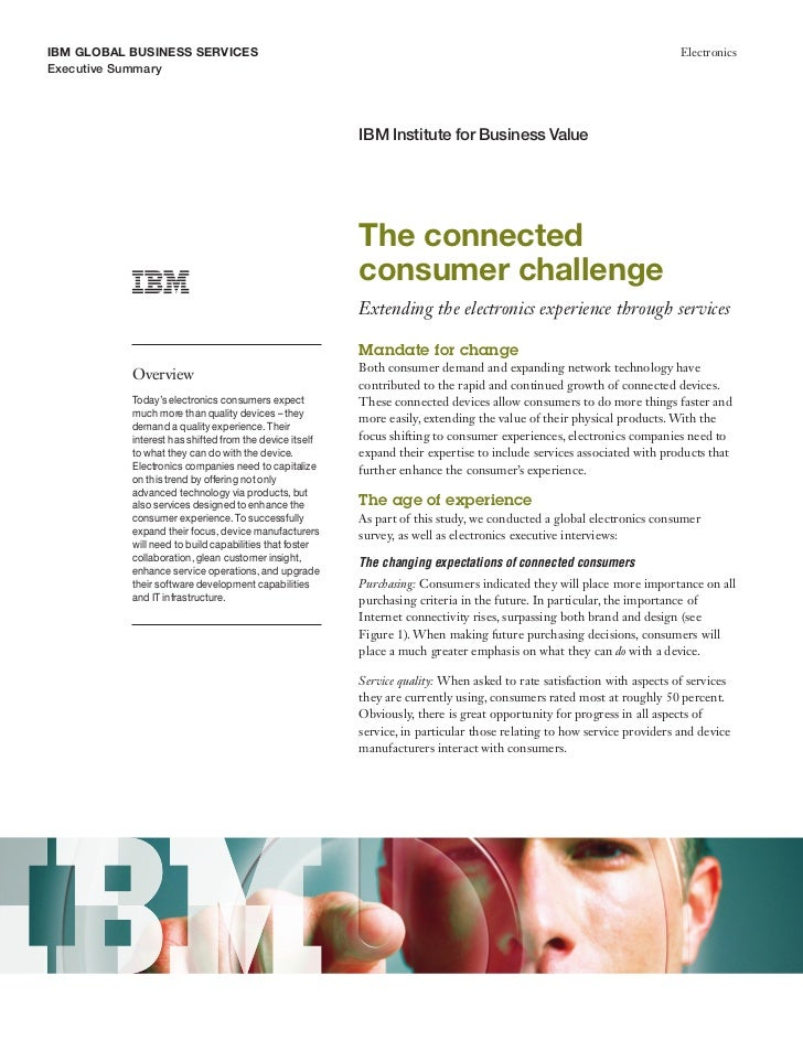 The connected consumer challenge