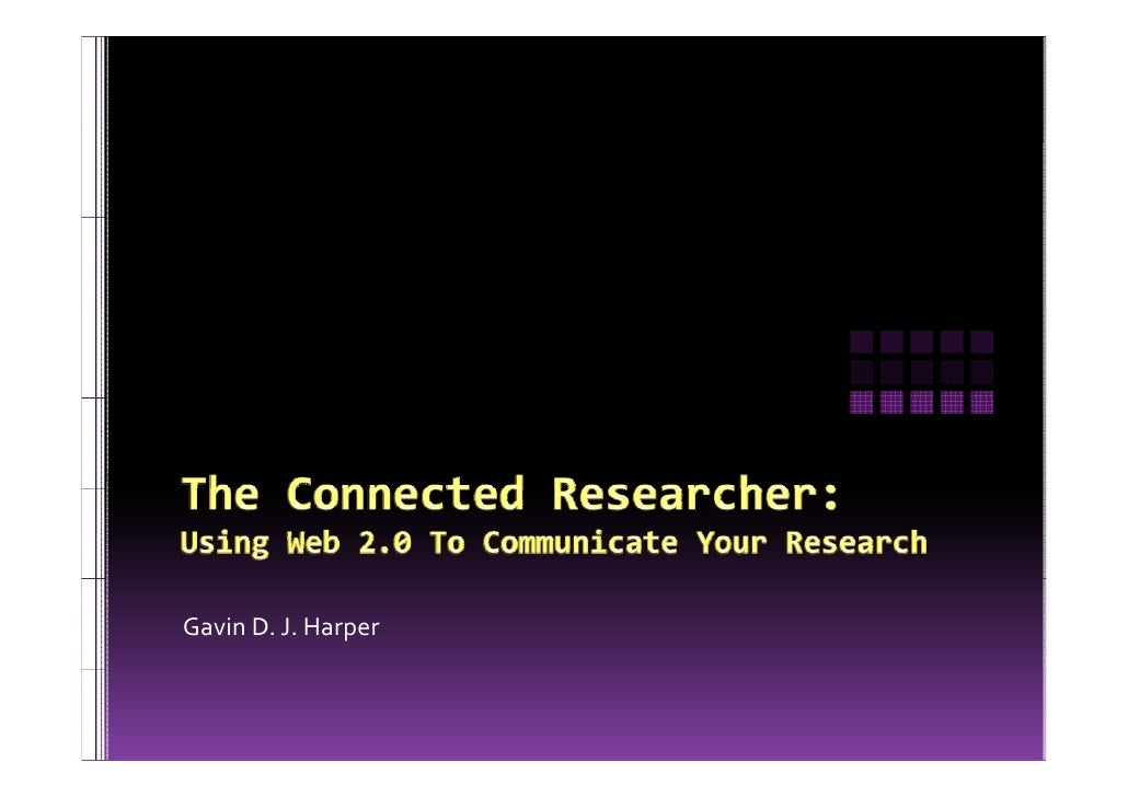The Connected Researcher