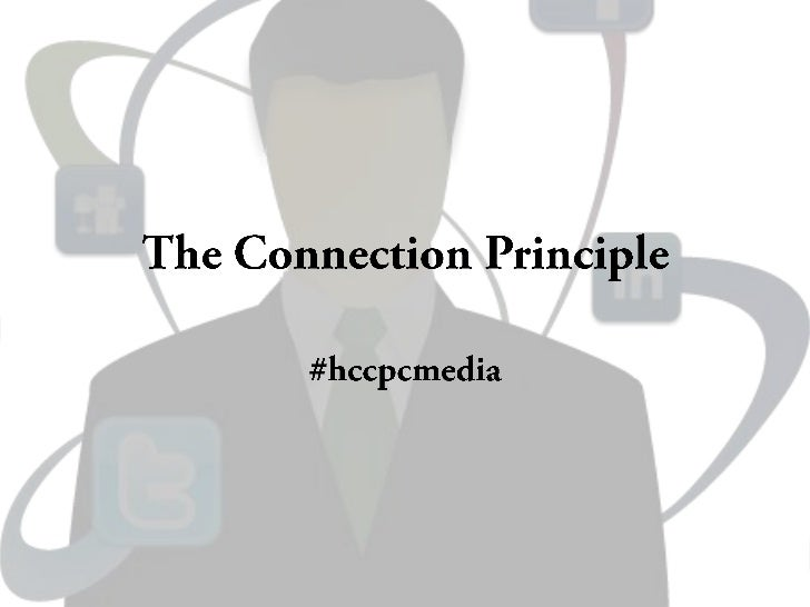 The connection principle