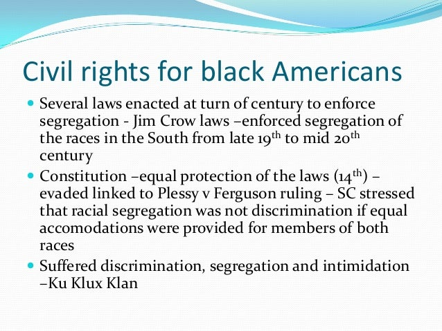 Civil rights essay