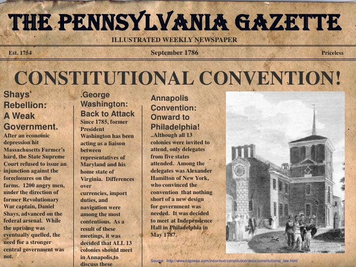 The constitutional convention revised