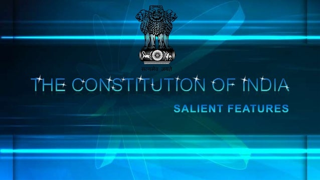 The Constitution of India is the supreme law of India. It lays down the framework defining fundamental political principle...