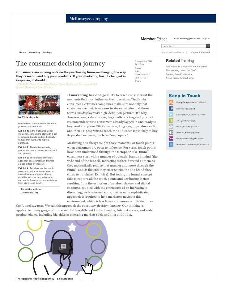 The consumer decision journey   mc kinsey quarterly - marketing - strategy