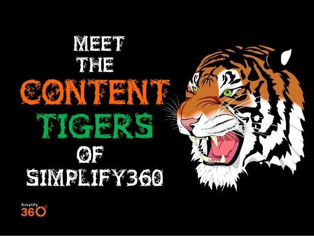 Meet The Content Tigers Of Simplify360