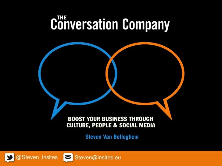 The conversation company 120306221841 Phpapp01