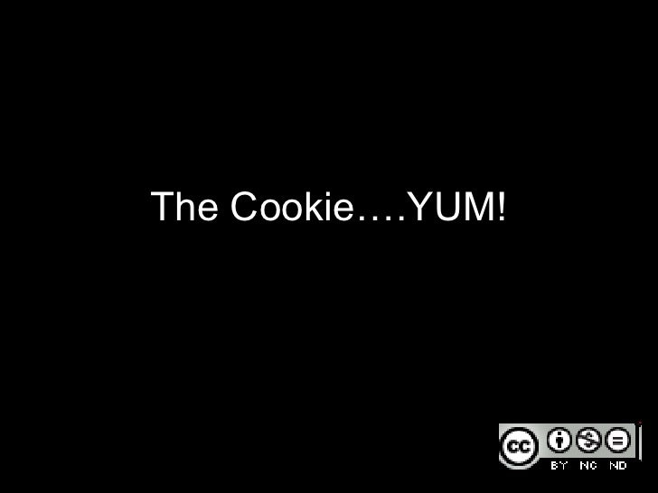 The Cookie….YUM!