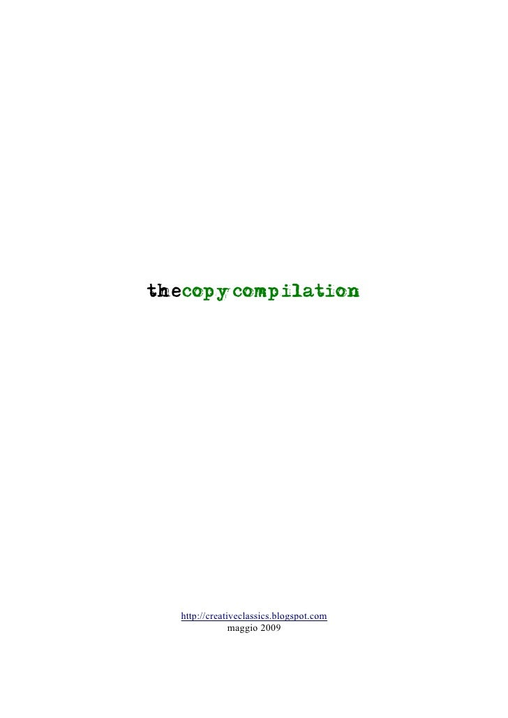 The copycompilation 2009