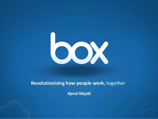 1Ajmal MajidiRevolutionizing how people work, together