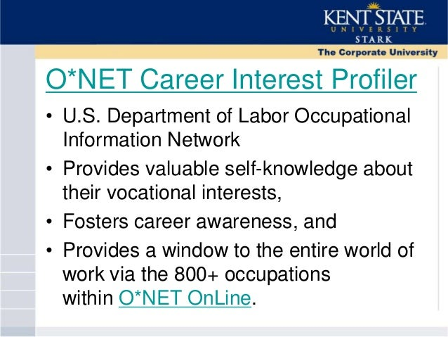 career interests profiler Career quiz in order for us to after you complete the princeton review career quiz we will show you careers that match the style and interest colors you.