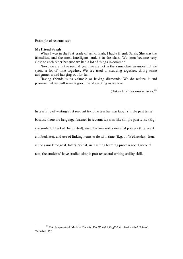 a personal recount on going on a senior trip My trip essay example of a observation essay on english about: car / road trip / nature / driving / traveling personal politics psychology.