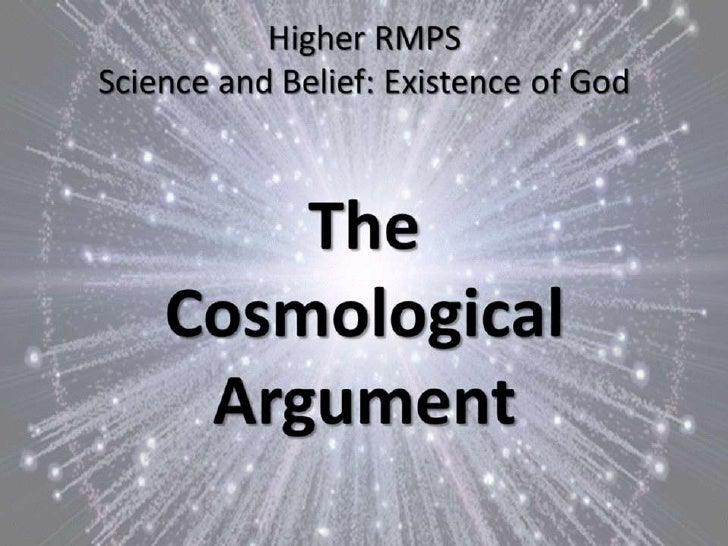 essays on the cosmological argument for the existence of god