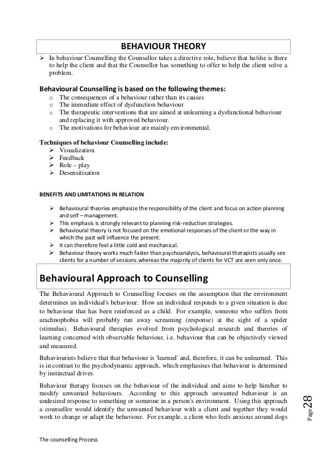 facilitate counselling process essay Exploring clinical supervision to facilitate the creative process of supervision dr norhasni zainal abiddin• abstract good supervisory practices help students.