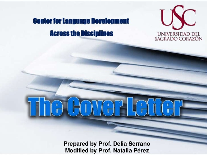 The cover letter2