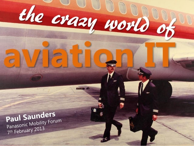 The crazy world of aviation it