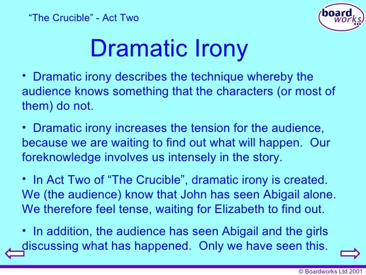crucible essay examples Home → sparknotes → literature study guides → the crucible → study questions the sample a+ essay the trials in the crucible take place against the.