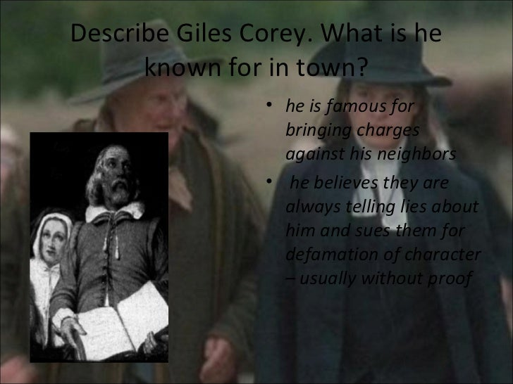 crucible essay about pride In the play the crucible a lot of people lost their lives because they had pride giles corey, rebbeca nurse, and john proctor all died because they felt they had to.