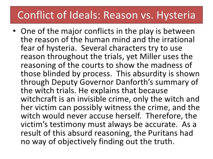 an analysis of salem witch trials relevance to mccarthyism accusations Inspired by the mccarthy hearings of the 1950s, arthur miller's play, the crucible, focuses on the inconsistencies of the salem witch trials and the extreme beh.