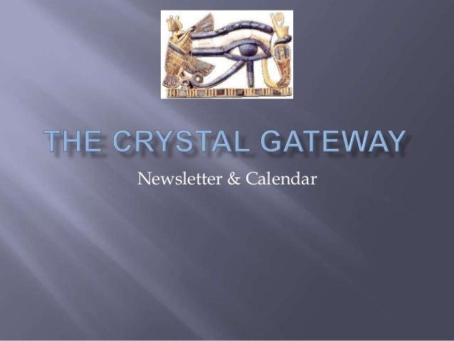 Newsletter & Calendar