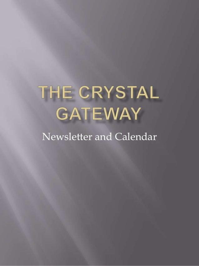 Newsletter and Calendar