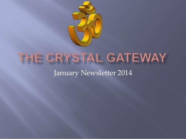 January Newsletter 2014