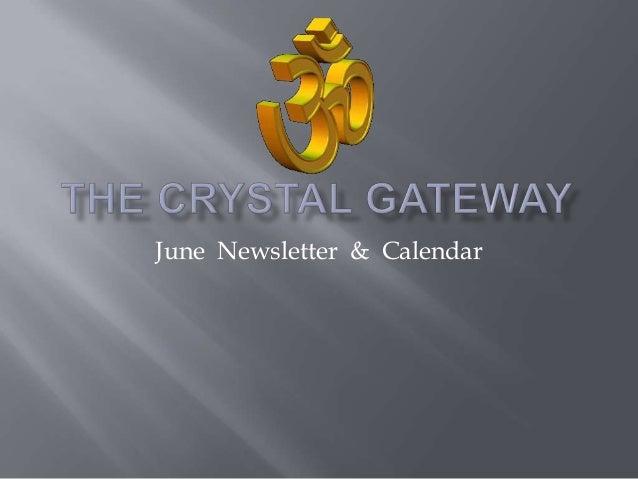 June Newsletter & Calendar