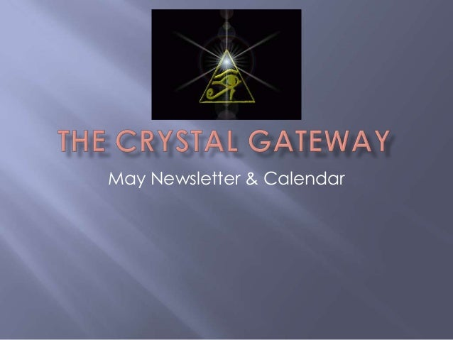May Newsletter & Calendar