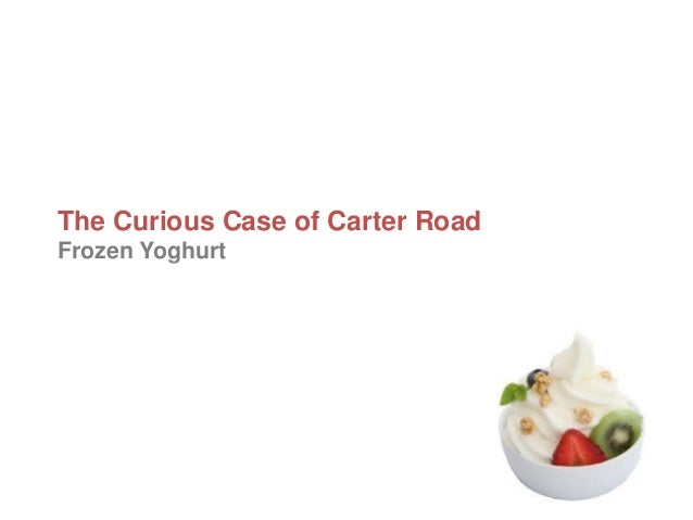 The Curious Case of Carter Road