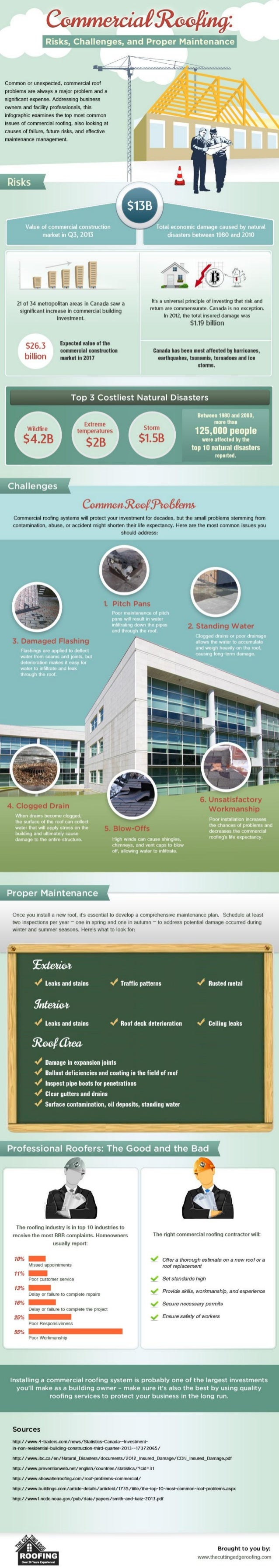 Commercial Roofing: Risks, Challenges and Proper Maintenance