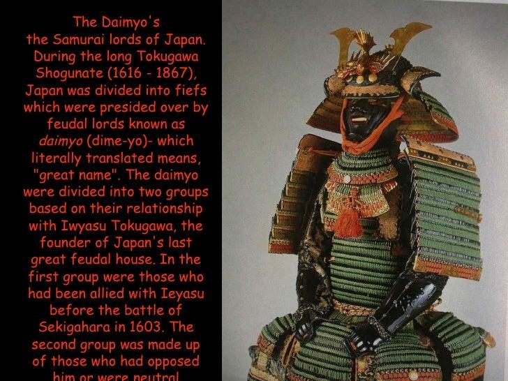 daimyo and shogun relationship with god