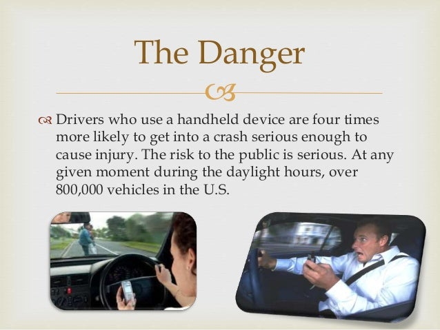 using cellphones while driving is dangerous essay