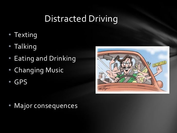 Thesis statement for texting while driving