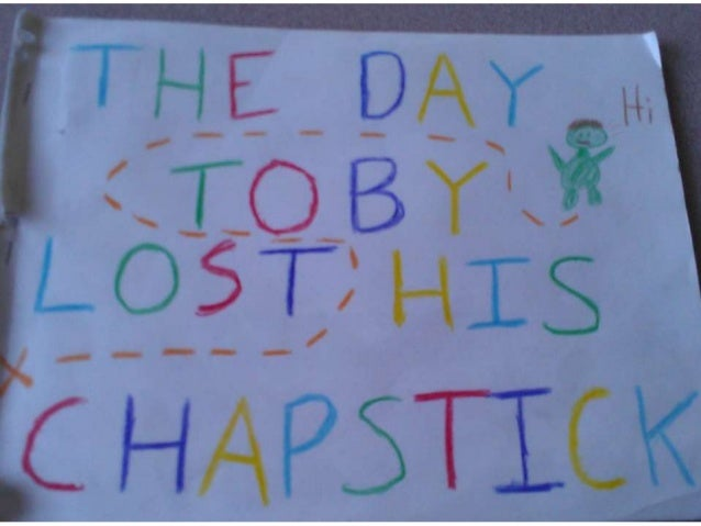 The day toby lost his chapstick