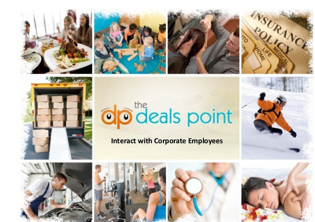 The deals point   marketing proposal