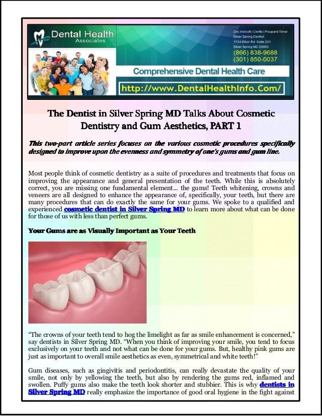 TheTheTheThe DentistDentistDentistDentist inininin SilverSilverSilverSilver SpringSpringSpringSpring MDMDMDMD TalksTalksTa...