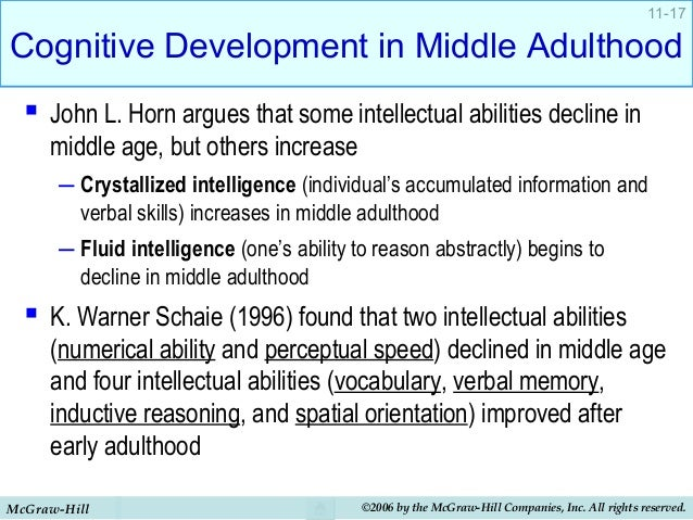 Intellectual and cognitive development