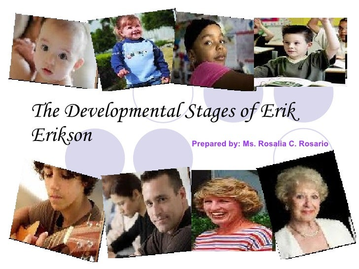The developmental stages of erik erikson lesson