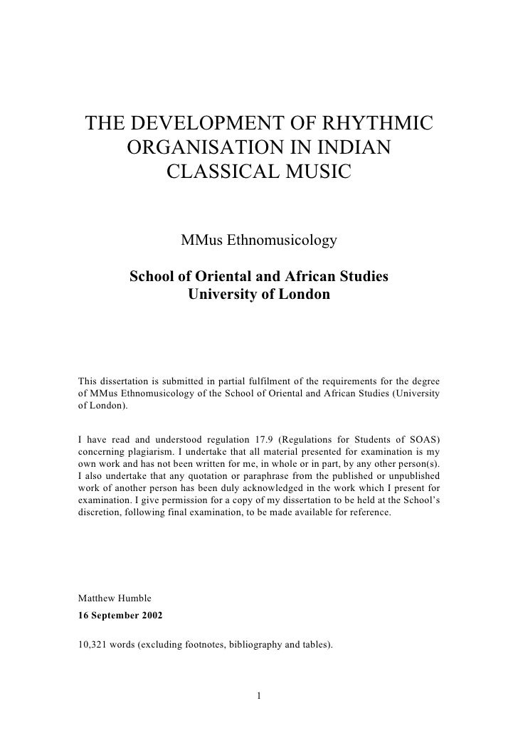 The Development of Rhythmic Organisation in Indian Classical Music
