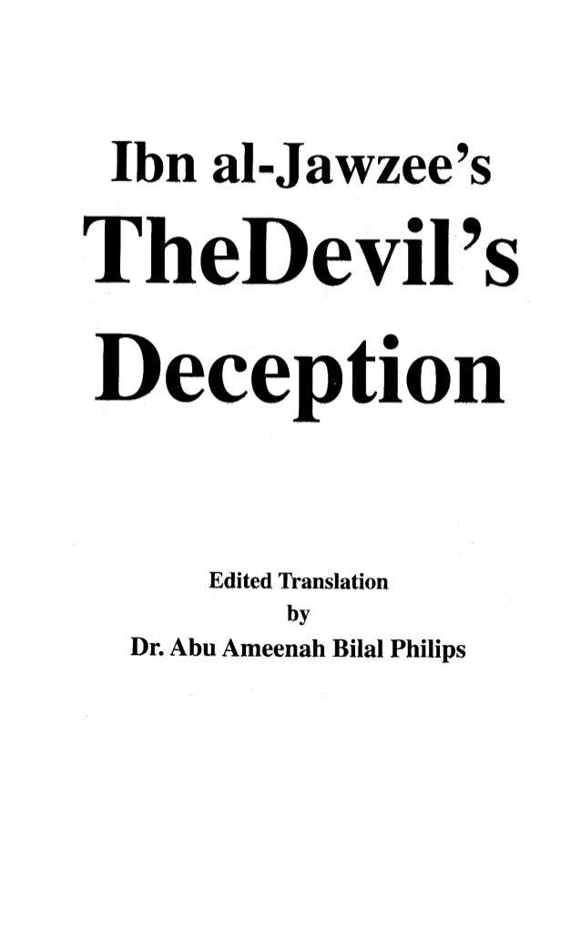 The devil's deciption