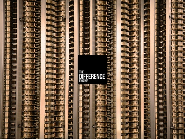 The Difference Engine 2014
