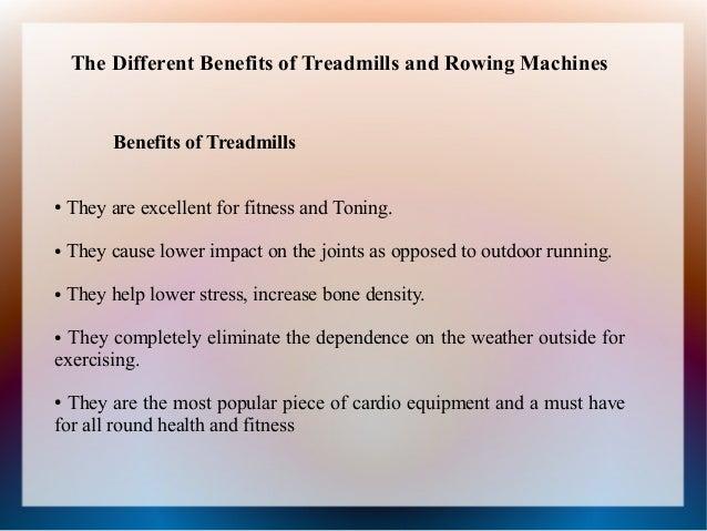 benefits of rowing machine