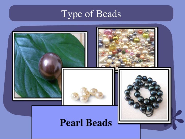 Type of BeadsPearl Beads