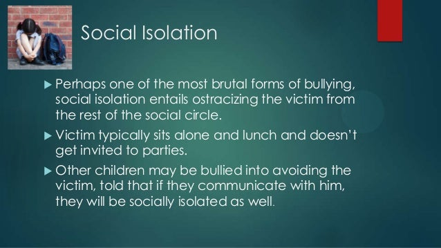 social isolation and the female live Social isolation is not all doom and gloom for some macaques macaque societies are female-bonded societies the larger the maternal group, the more social.